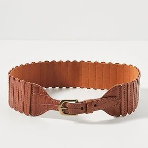 Anthropologie Tabby Stretch Waist Belt L